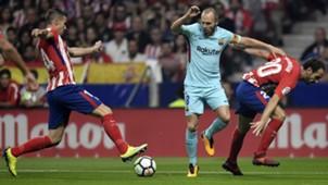 Iniesta Gabi Juanfran Atletico Madrid Barcelona LaLiga