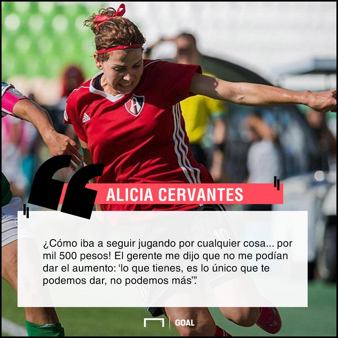 Alicia Cervantes quote