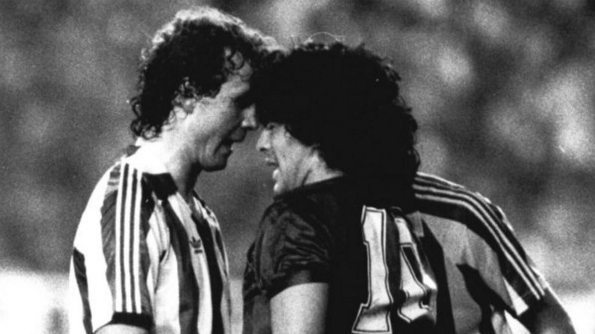 Diego Maradona Barcelona 1984