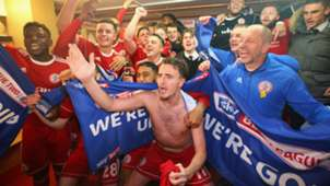 Accrington Stanley celebrate