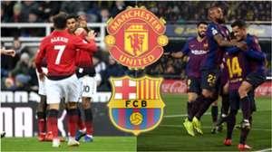 GFX Barcelona Manchester United 2019
