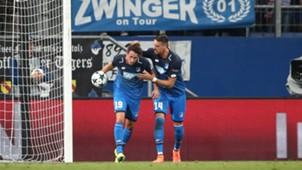 Sandro Wagner Mark Uth 1899 Hoffenheim 15082017