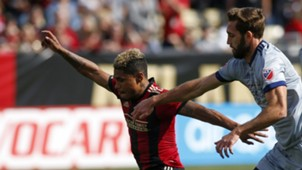 Josef Martinez Jonathan Campbell Atlanta United Chicago Fire MLS 031817