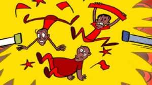 Kenya cartoon on KPL-FKF tussle