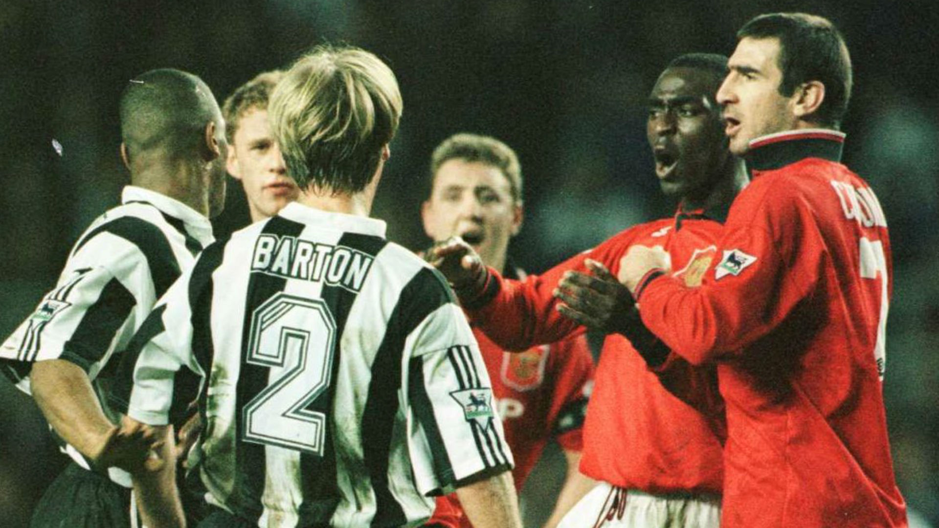 Newcastle United Manchester United 1996