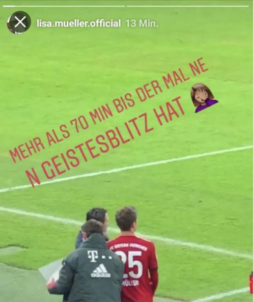 Lisa Müller Thomas Instagram
