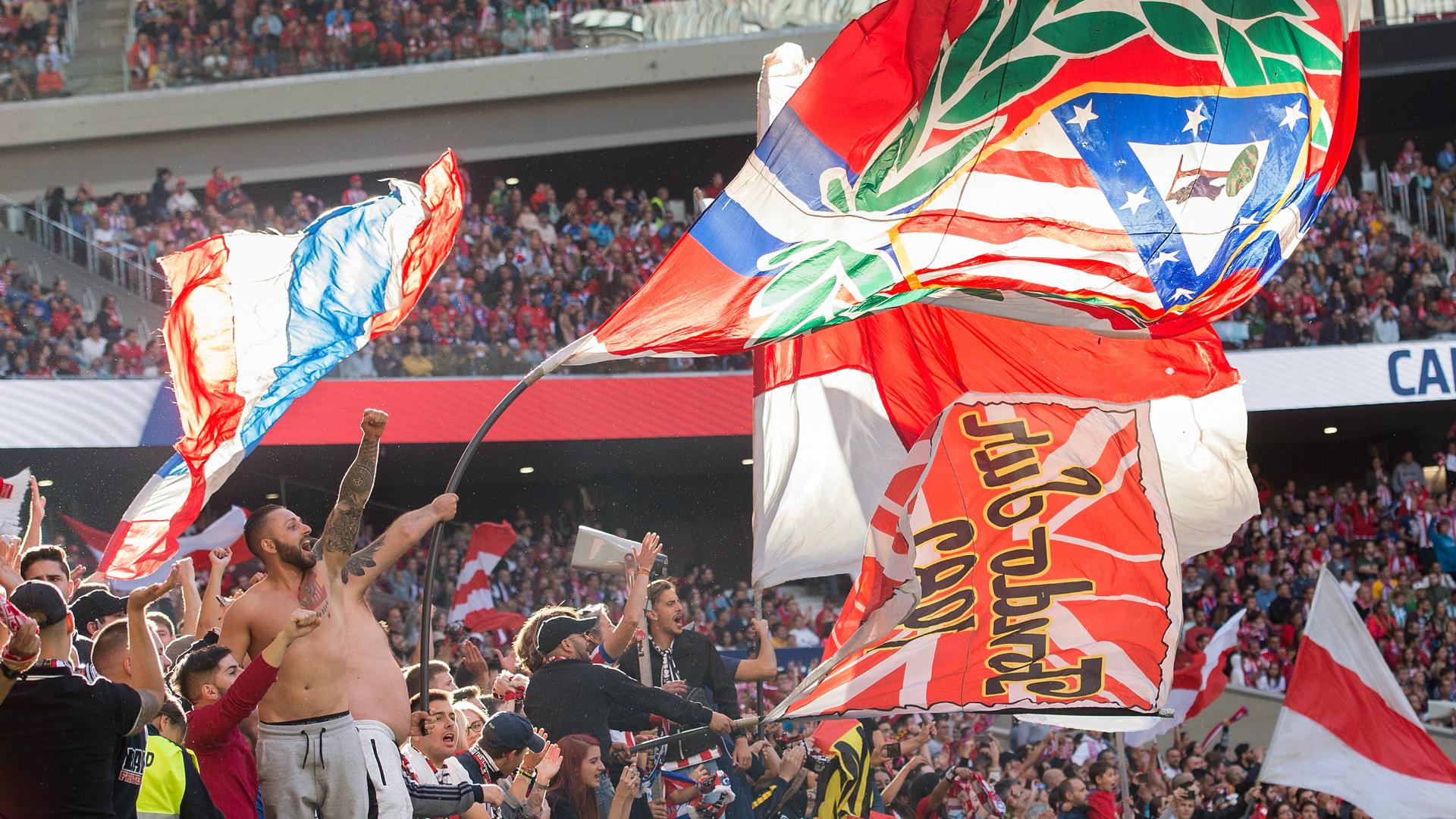 Atletico Madrid fans 10072018