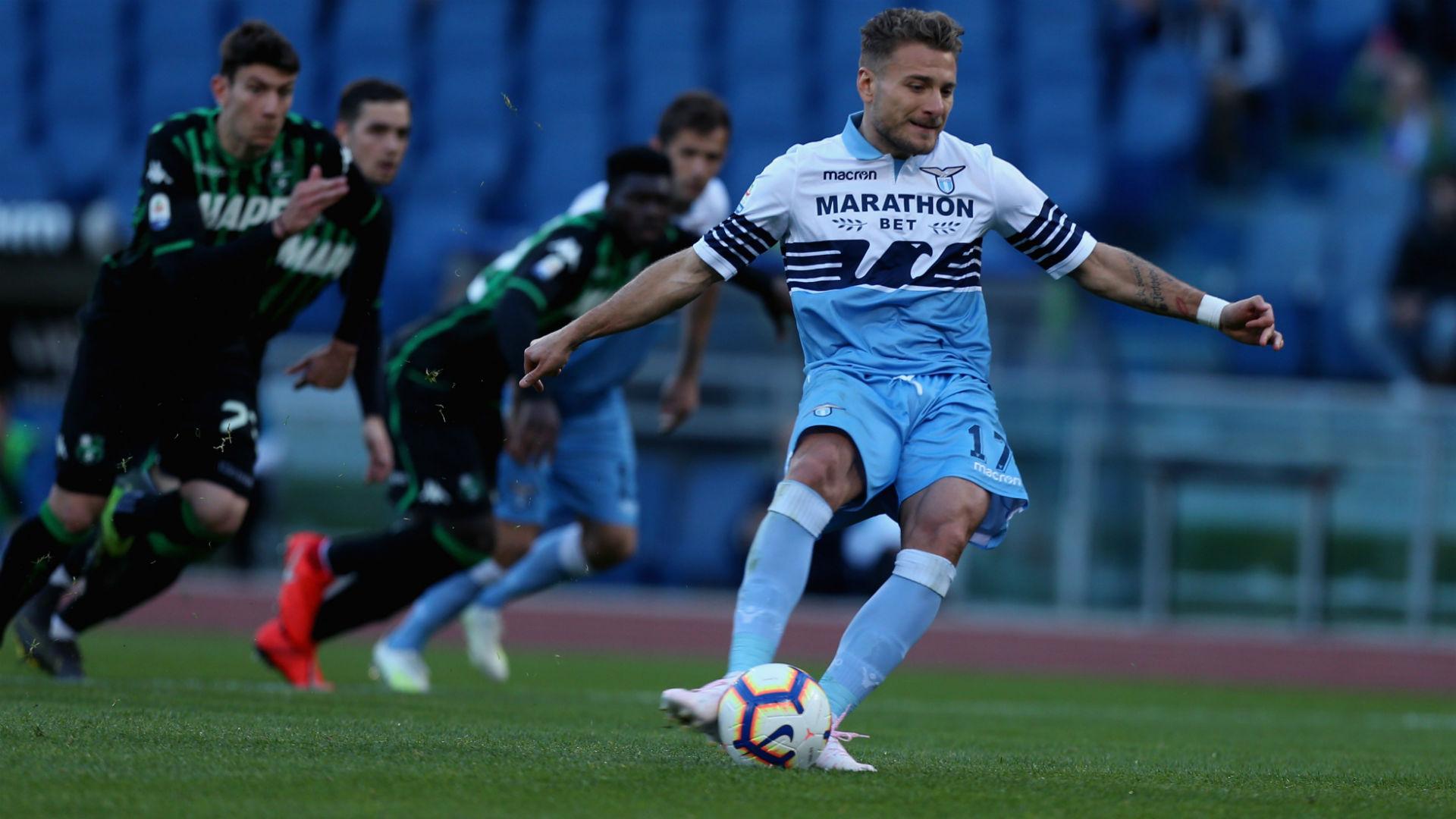 Ciro Immobile Lazio Sassuolo Serie A