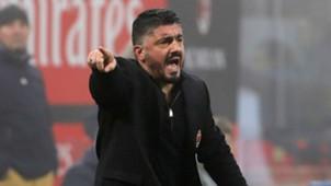 Gennaro Ivan Gattuso Milan Lazio Serie A 01282017