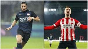 Topscorers Eredivisie Fran Sol/Luuk de Jong