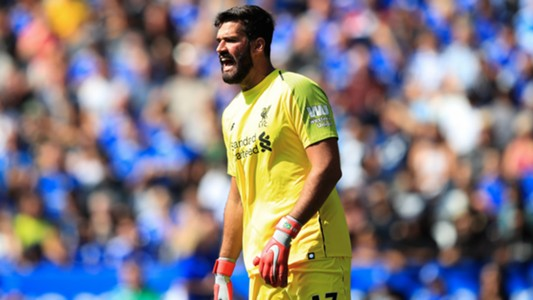 Alisson Becker FC Liverpool 09/2018