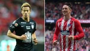 Keisuke Honda/ Fernando Torres