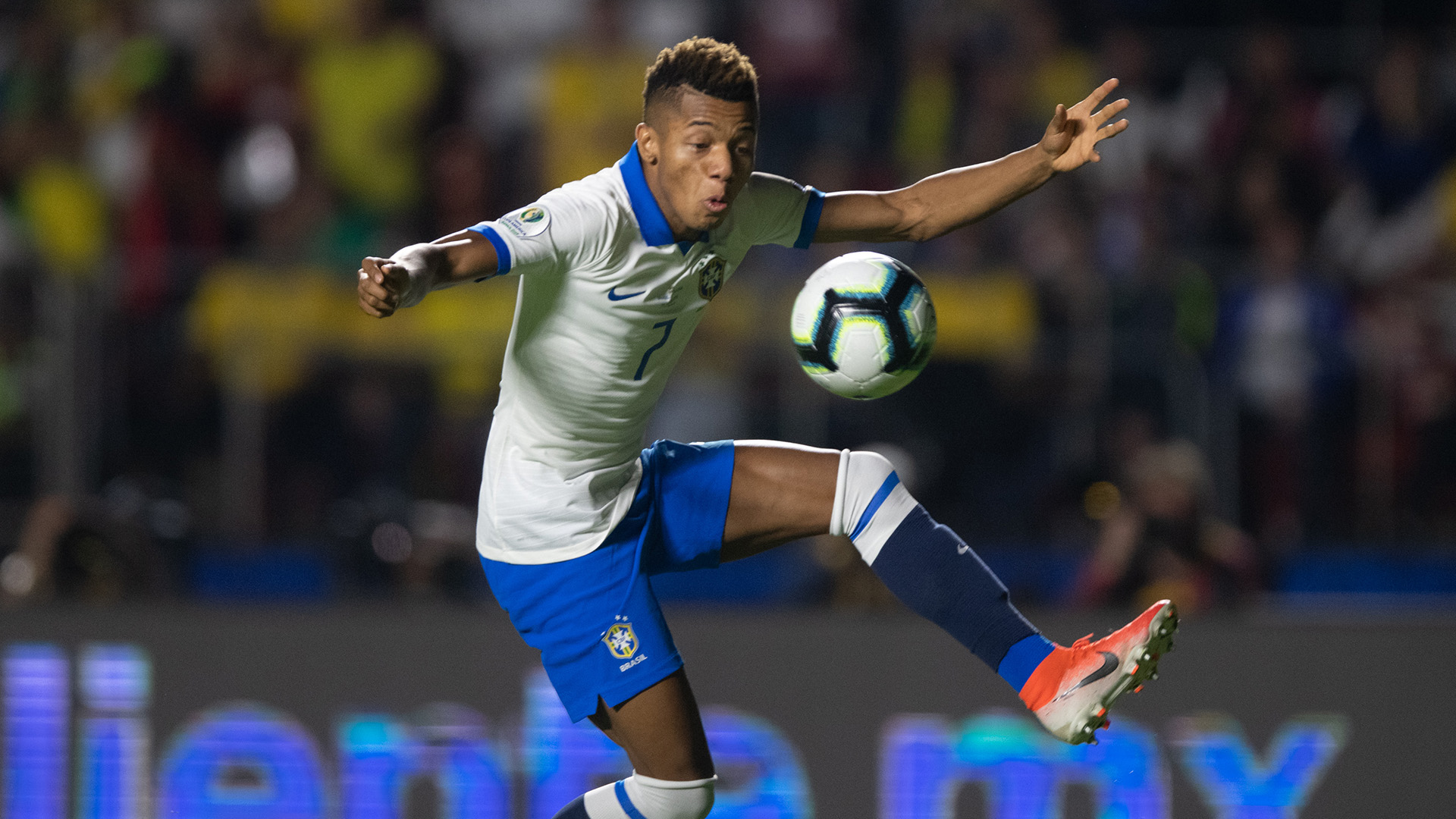 David Neres Brasil Bolívia Copa América 14062019