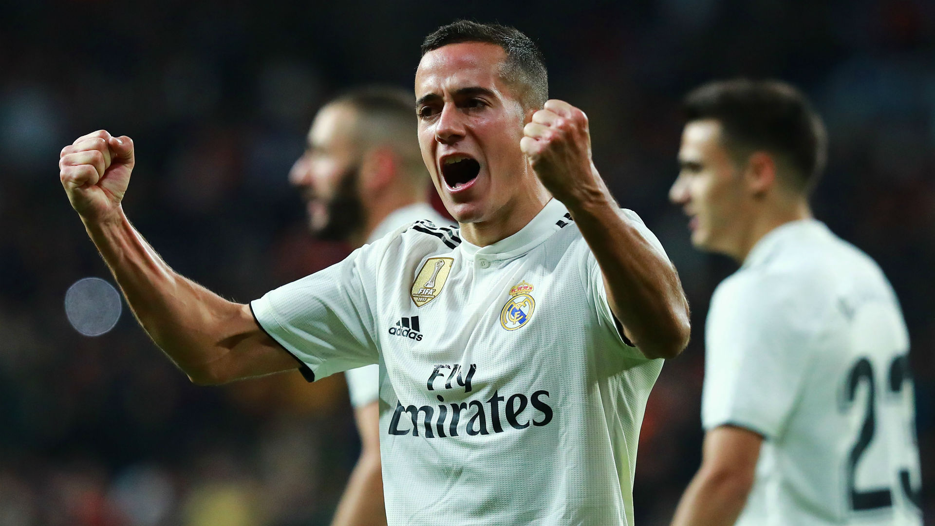 Lucas Vazquez Real Madrid Valencia La Liga 01122018