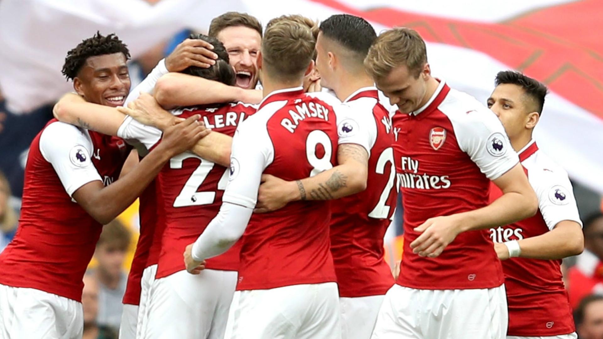 Arsenal Brighton 2017