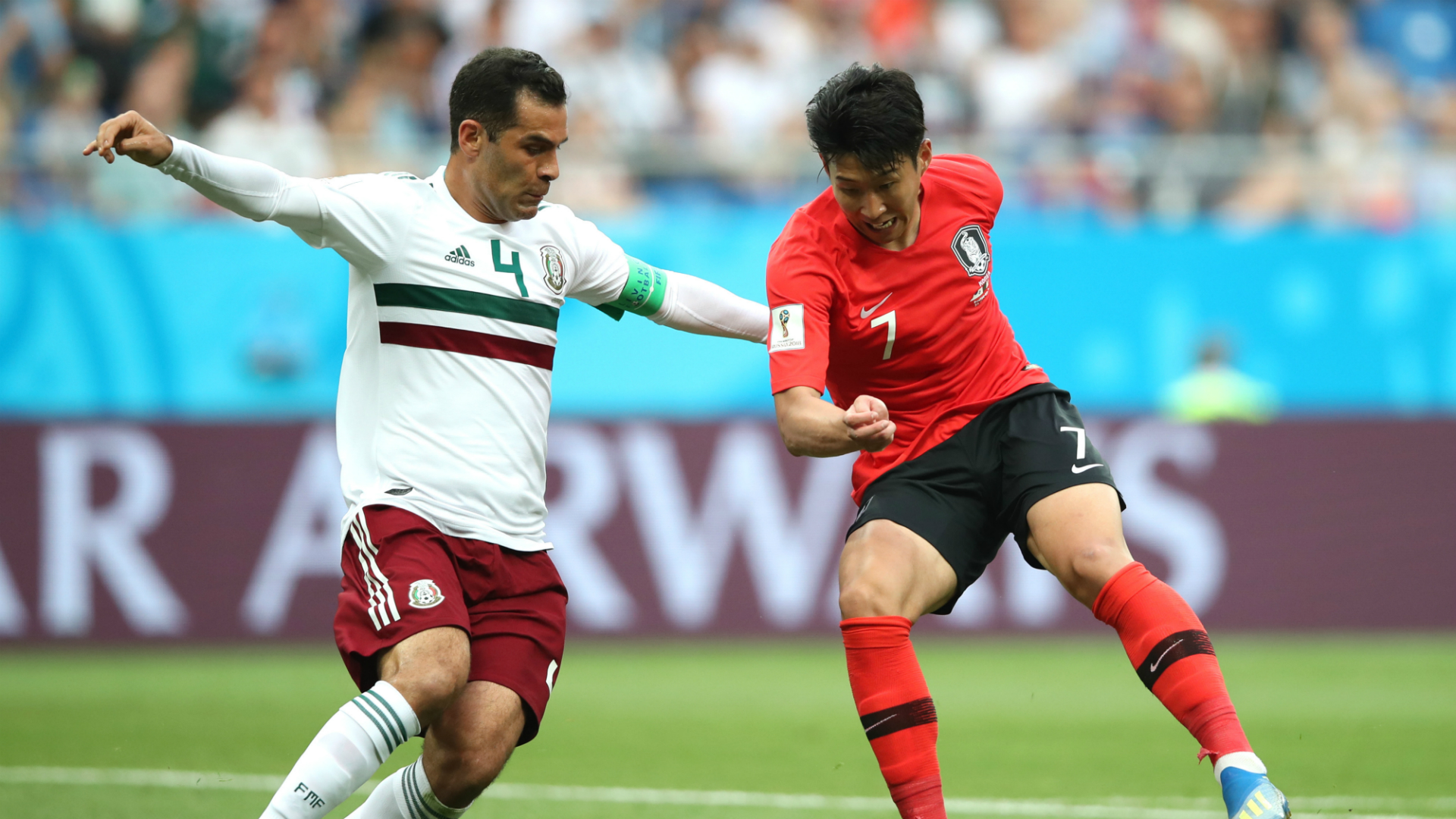 Rafael Márquez México Corea WC 2018