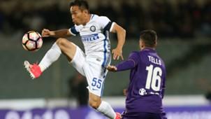 Nagatomo Tello Fiorentina Inter Serie A