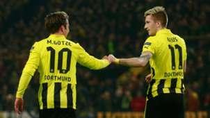 Mario Gotze Marco Reus Borussia Dortmund Bundesliga