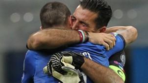 Buffon Bonucci Italy