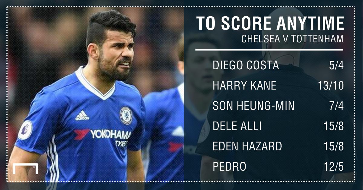 GFX Chelsea Tottenham scorer betting