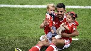 NEIL TAYLOR CHILDREN WALES EURO 2016