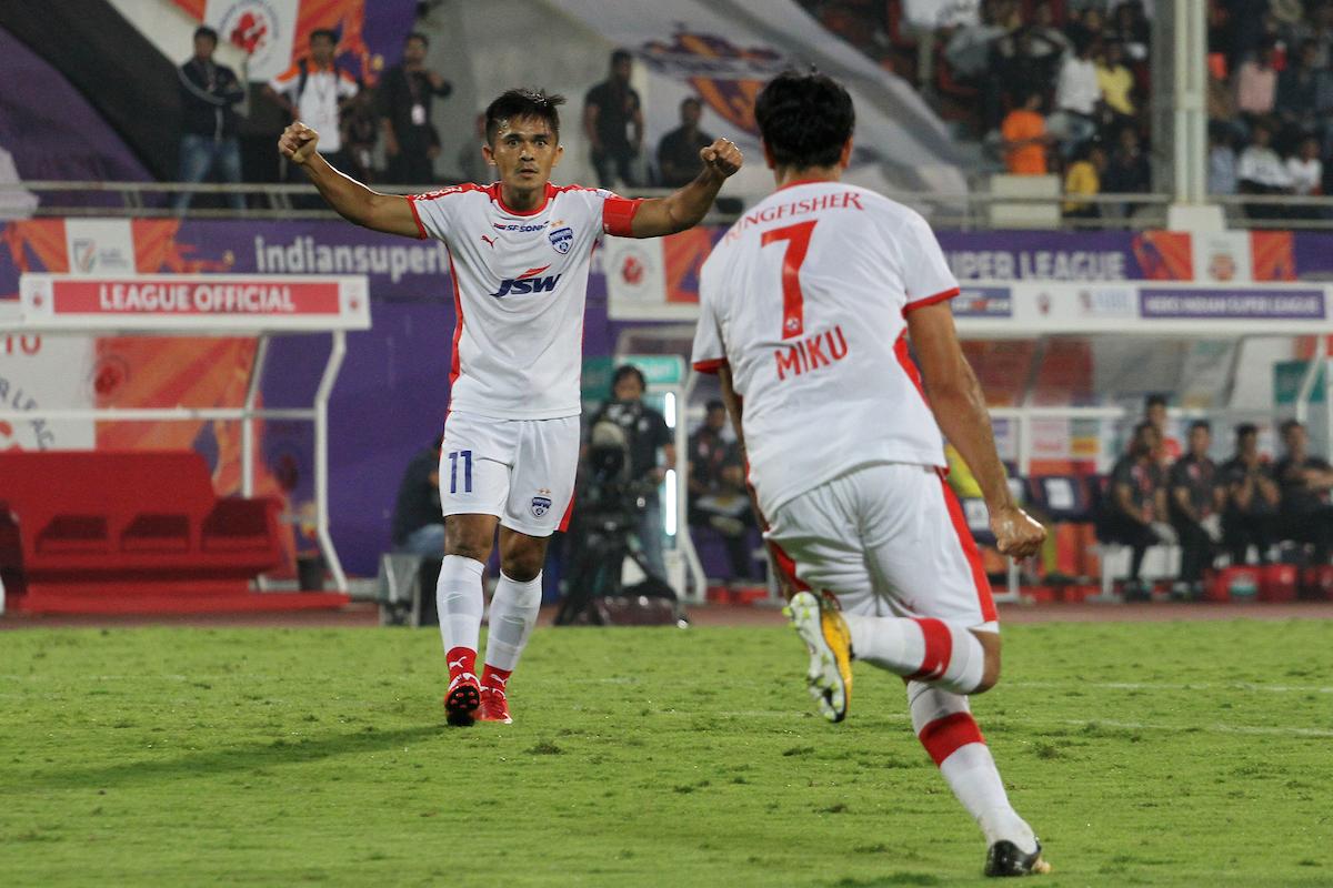 Bengaluru FC Miku Sunil Chhetri