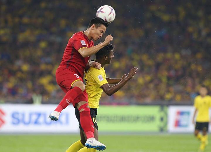 Quế Ngọc Hải chung kết lượt đi AFF Cup 2018 Malaysia