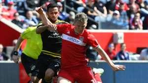 Bastian Schweinsteiger Artur Chicago Fire Columbus Crew MLS 040817