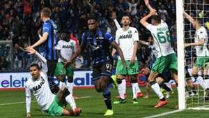 Duvan Zapata Atalanta Sassuolo Serie A