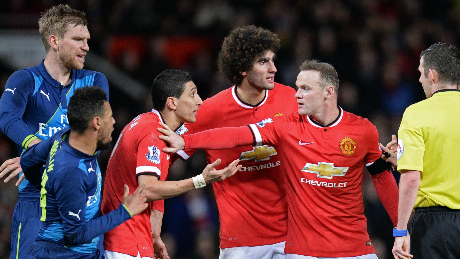 Di Maria Rooney Fellaini Manchester United 28 02 2019
