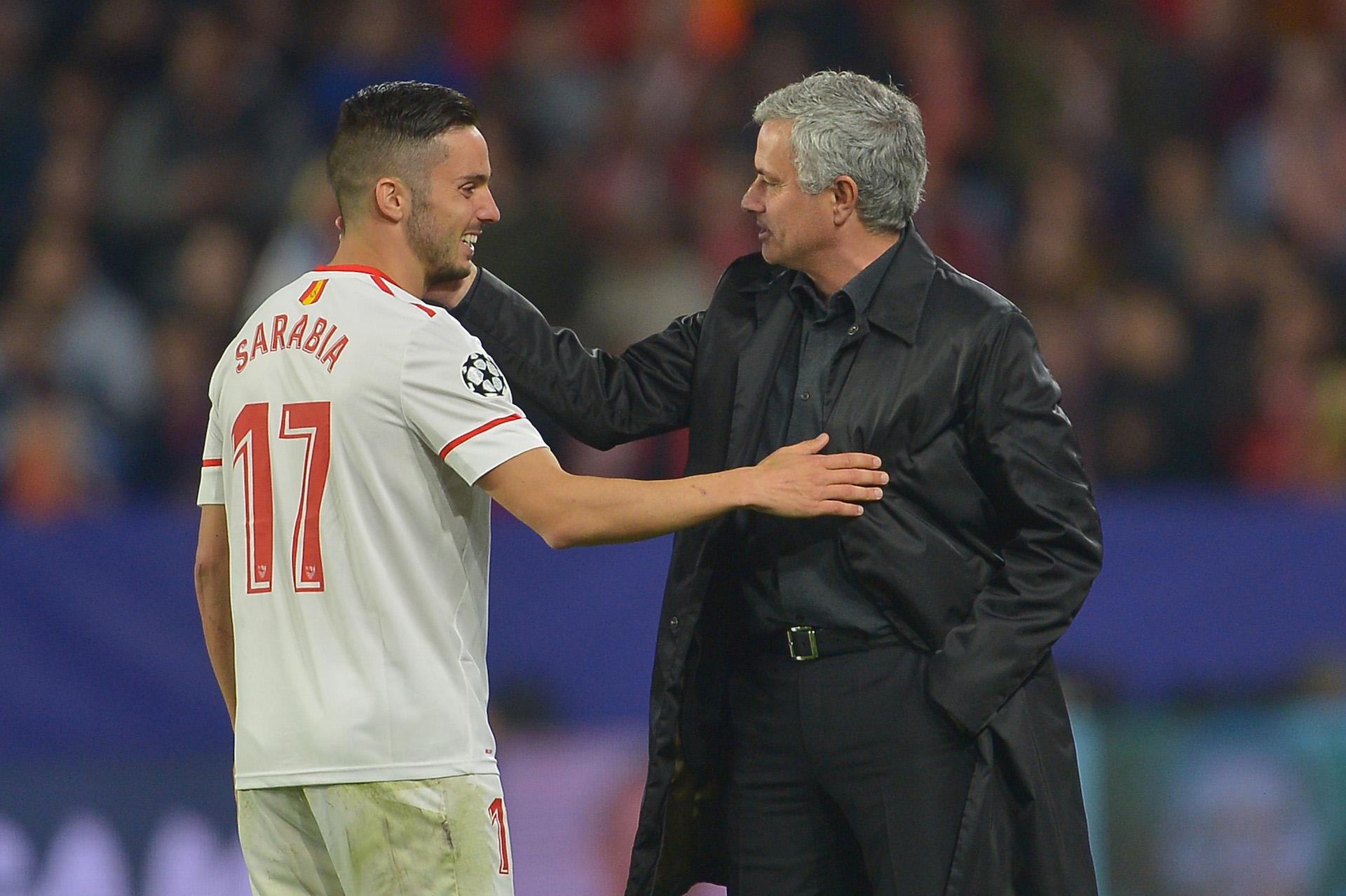 Pablo Sarabia Jose Mourinho Sevilla Manchester United