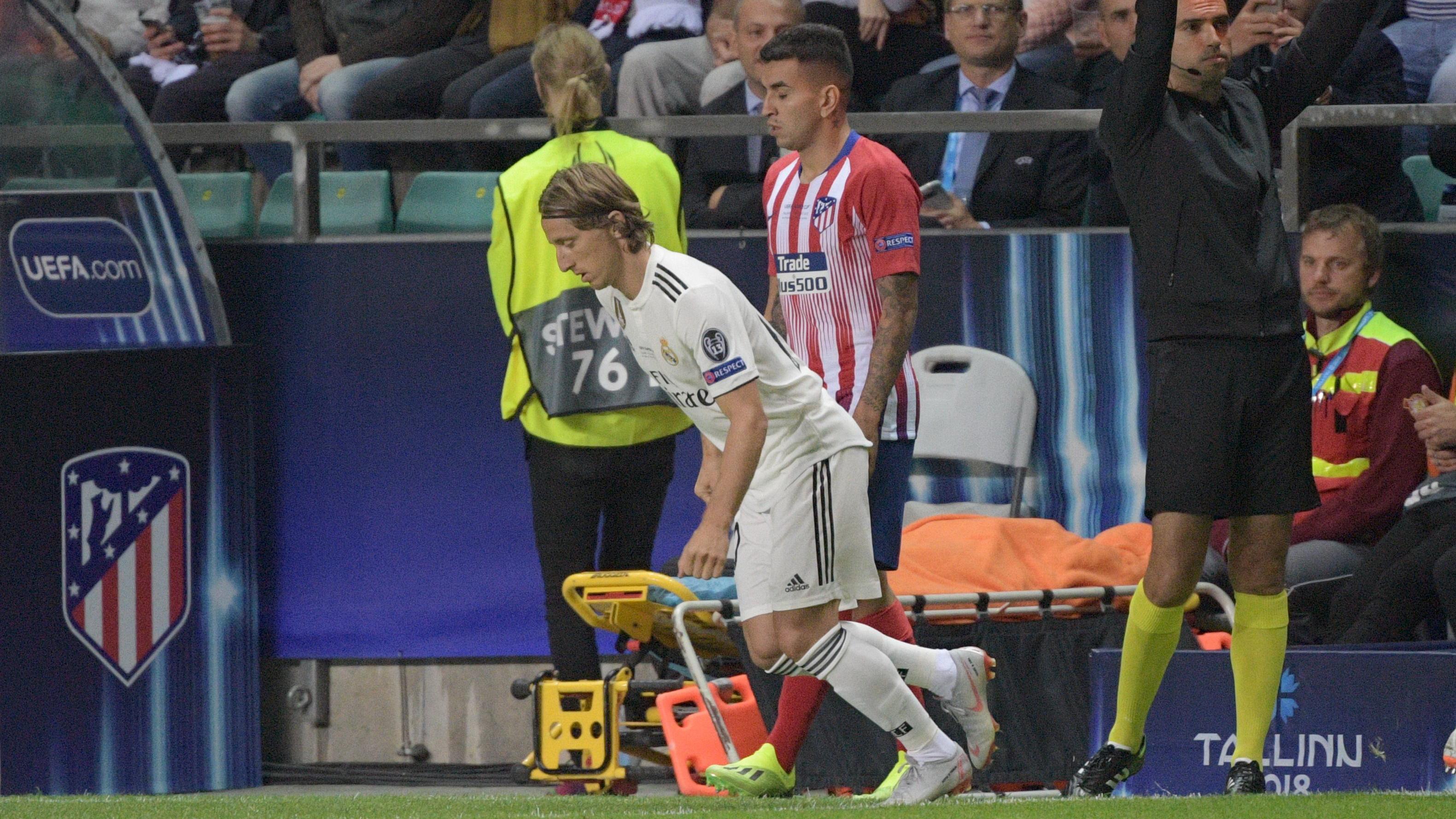 Luka Modric Real Madrid Atletico Madrid