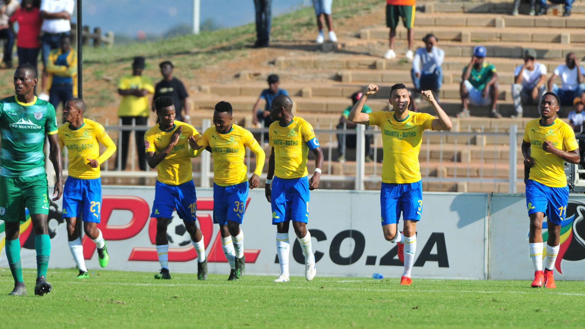 Baroka FC v Mamelodi Sundowns, April 2019