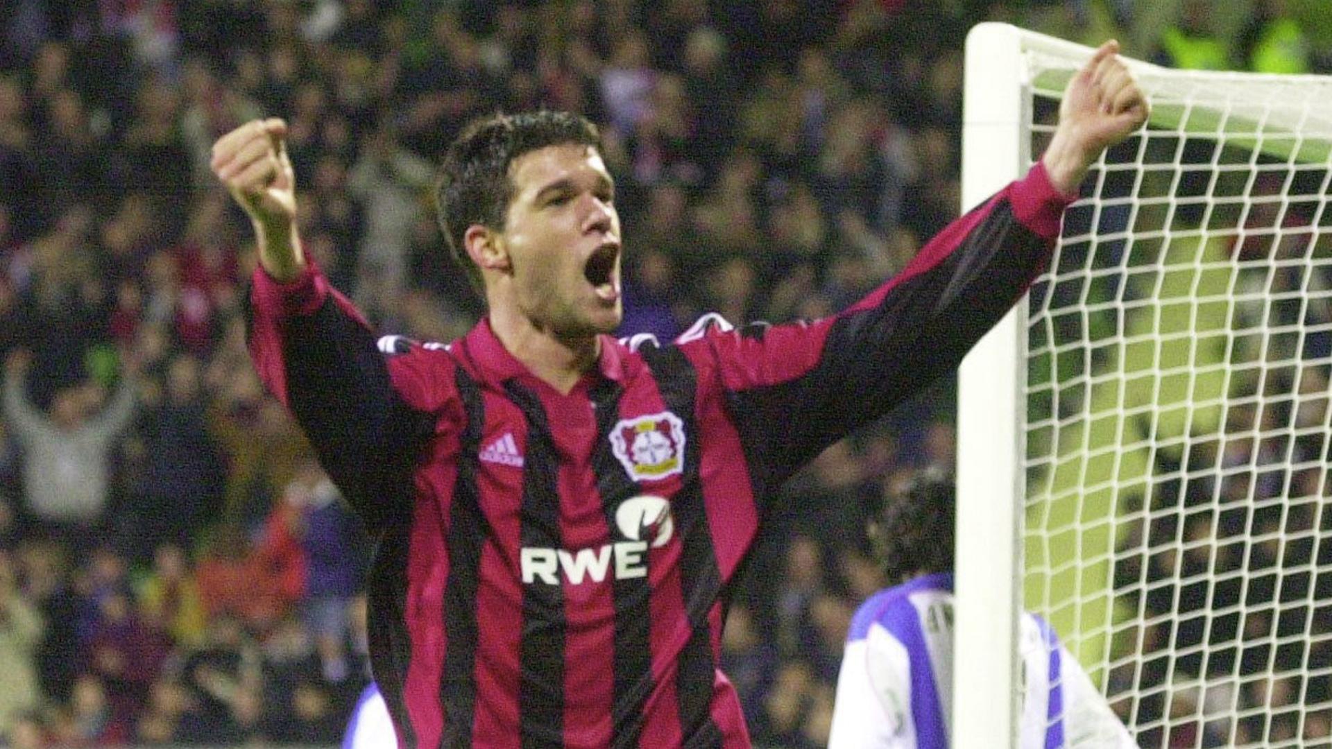 Michael Ballack Bayer Leverkusen 04122001