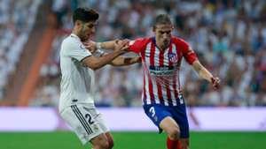 Filipe Luis Marco Asensio Atletico Madrid Real Madrid La Liga 29092018