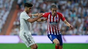 Filipe Luis Marco Asensio Atletico Madrid Real Madrid La Liga 29092018