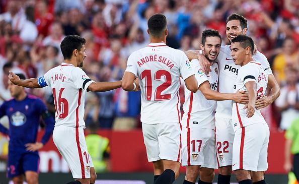 Sevilla FC Sevilla contra Deportivo Alavés: alineaciones