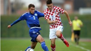 croatia U21 san marino - josip brekalo - 08112017