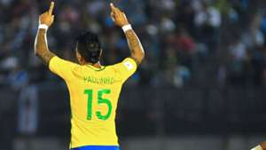 Paulinho Brazil vs. Uruguay