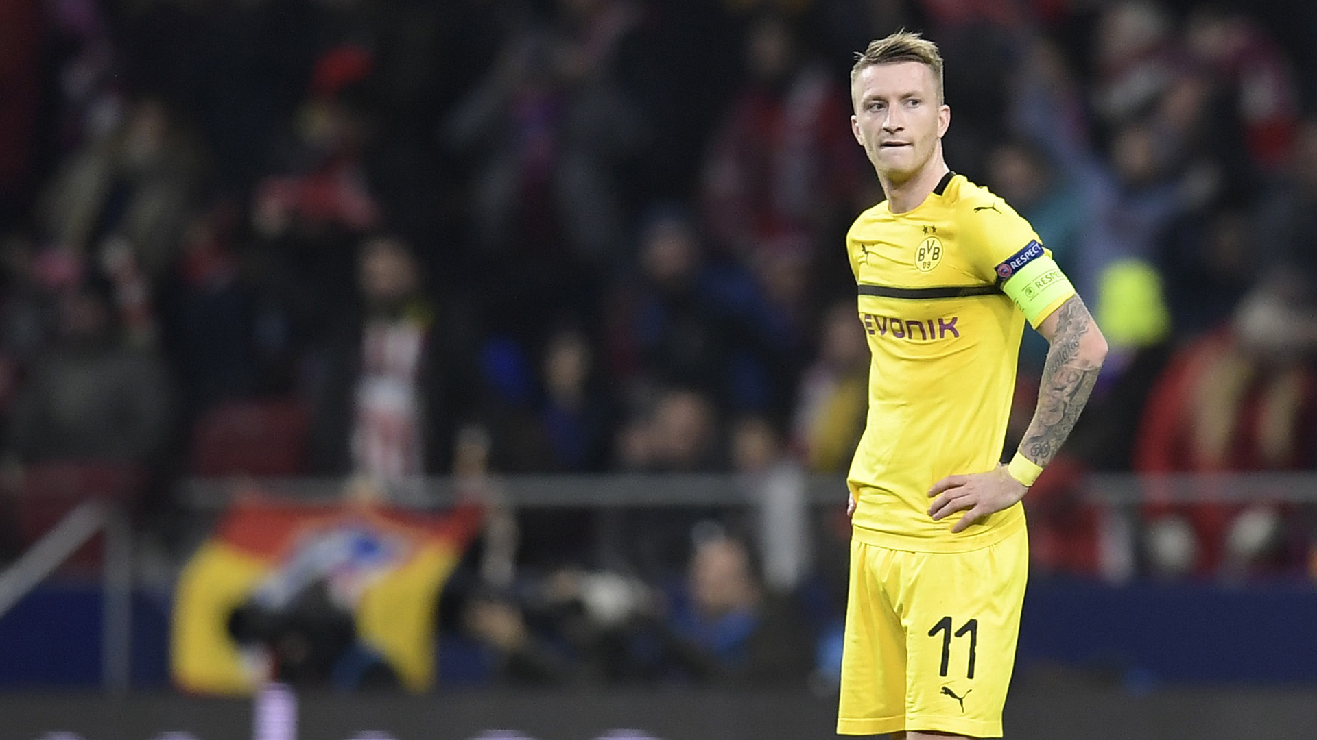 Marco Reus Champions League 2018