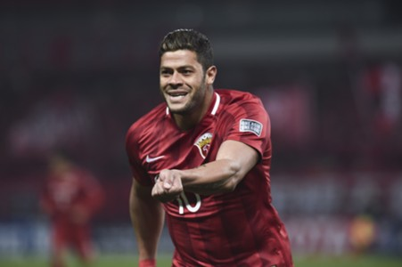Hulk was in sensational form against Western Sydney Wanderers