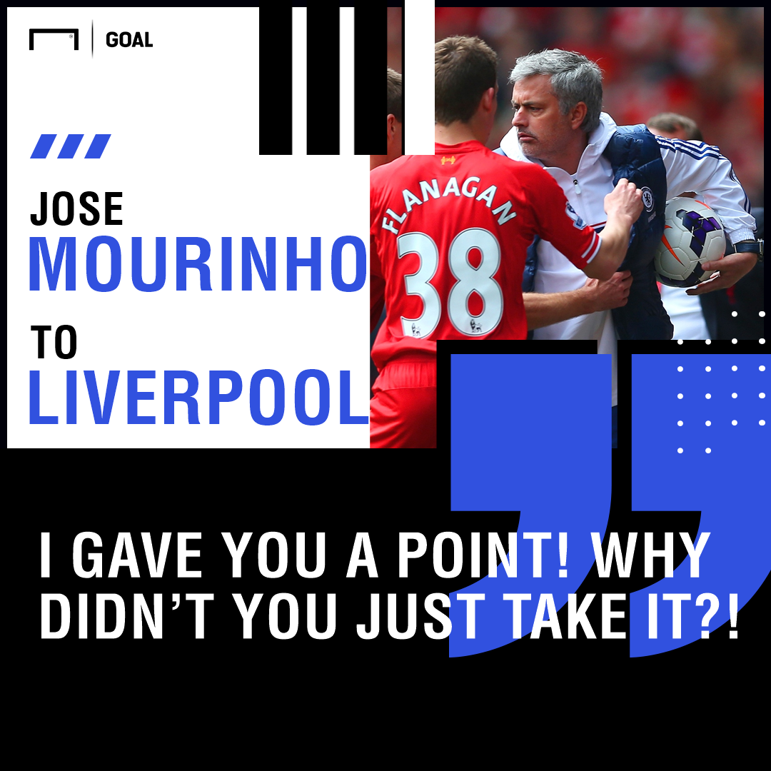 Liverpool vs Chelsea: Mourinho speaks on possible victor