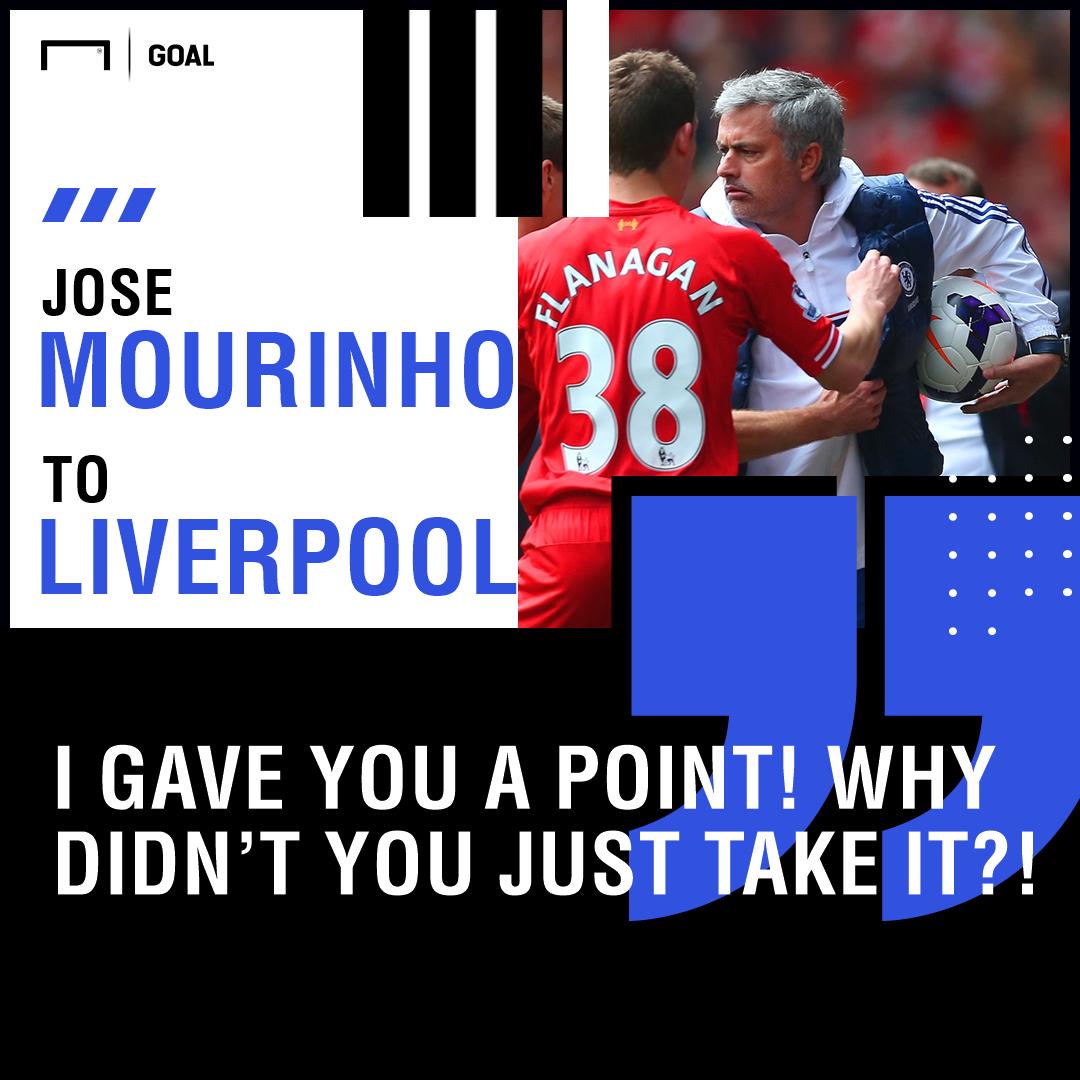 Jose Mourinho Liverpool PS