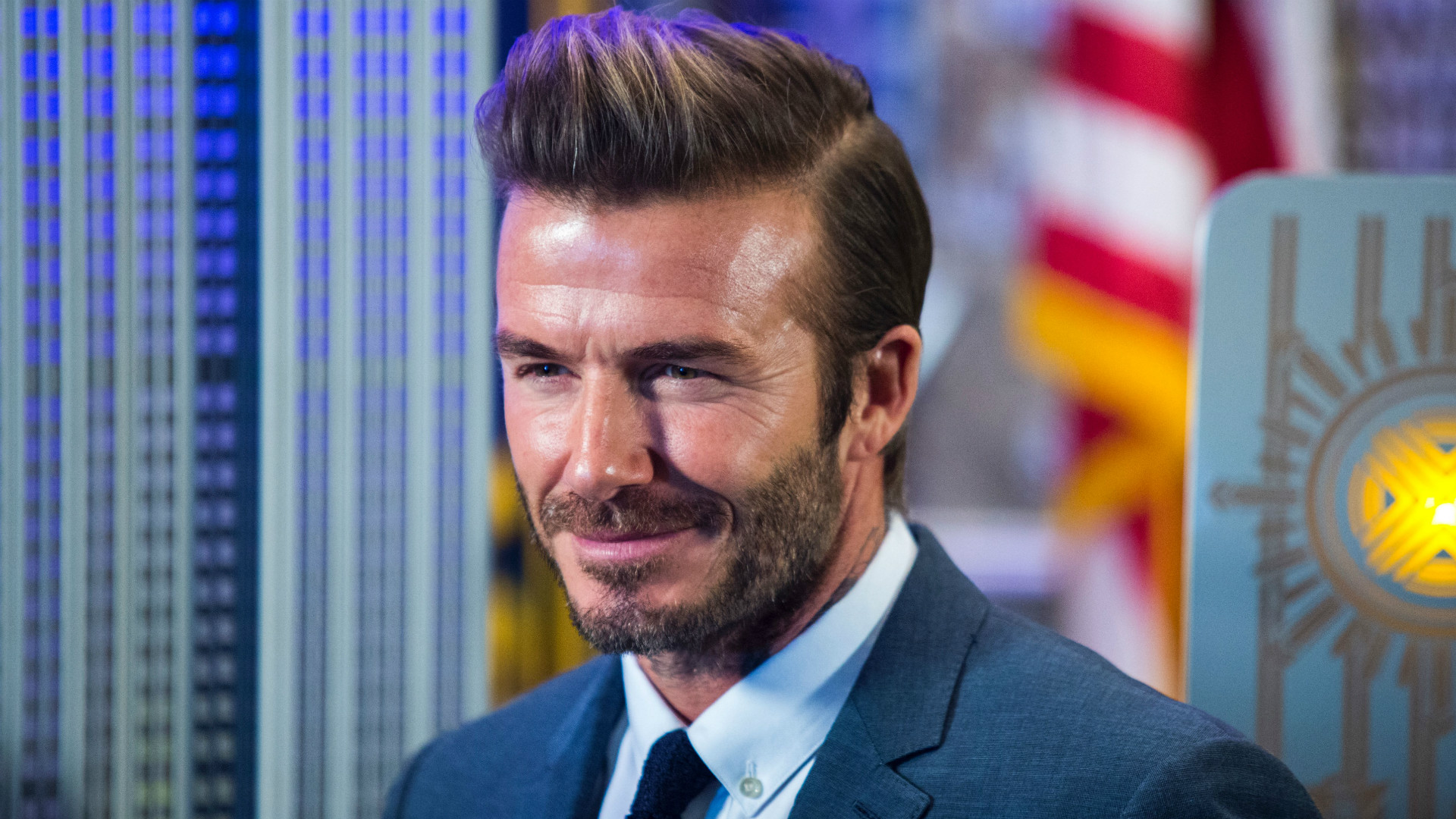 David Beckham shares sweet video of Harper's first football lesson