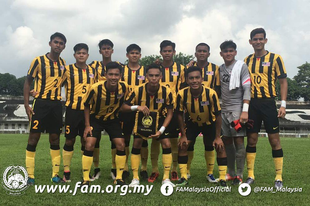 Akhyar Rashid Hadi Fayyadh Abdul Razak Guide Malaysia To  Aff U  Youth Championship Campaign Opener Goal Com