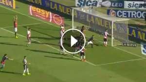 San Lorenzo River Paulo Diaz Goal Video Play