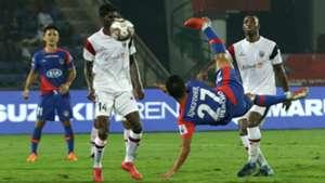 Chencho Geyltshen NorthEast United Bengaluru FC ISL 5