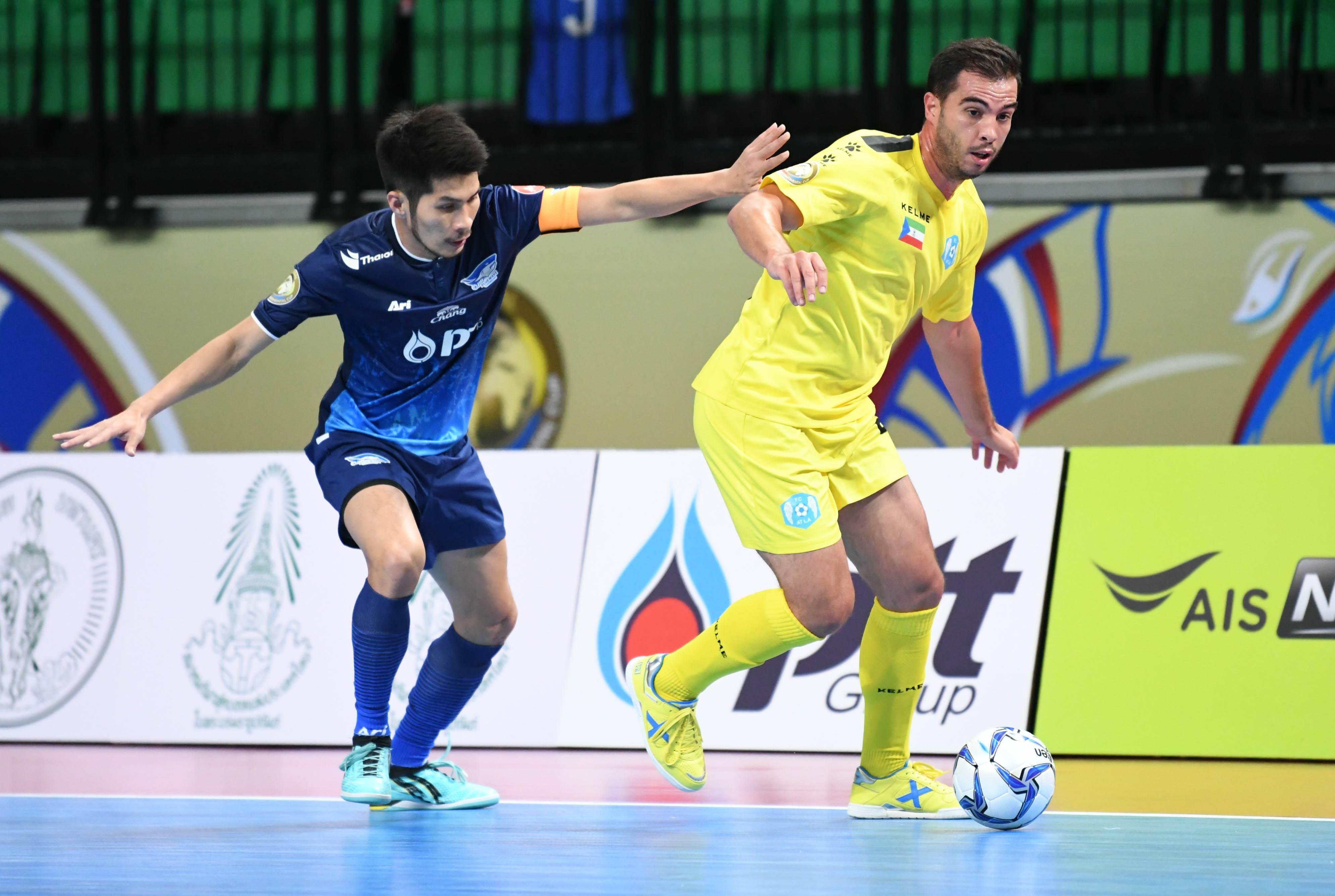 Image result for บลูเวฟประเดิมแซงชัย 4-3 ฟุตซอลสโมสรโลก