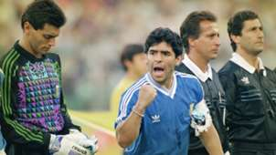 Argentina 1990 Sergio Goycochea Diego Maradona