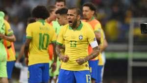 Dani Alves Brasil Argentina Copa América 02072019